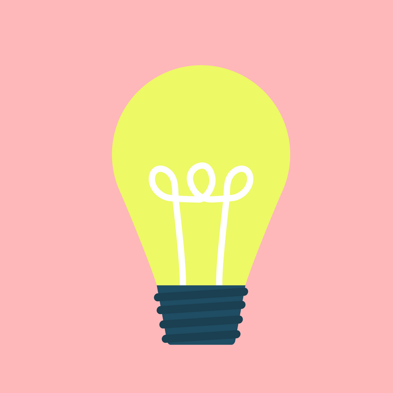 Idea - light bulb
